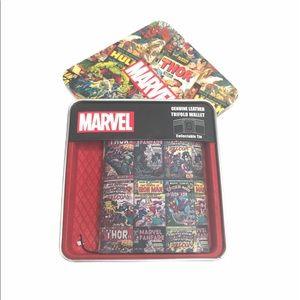 Marvel Comics Trifold Walllet Comic Books